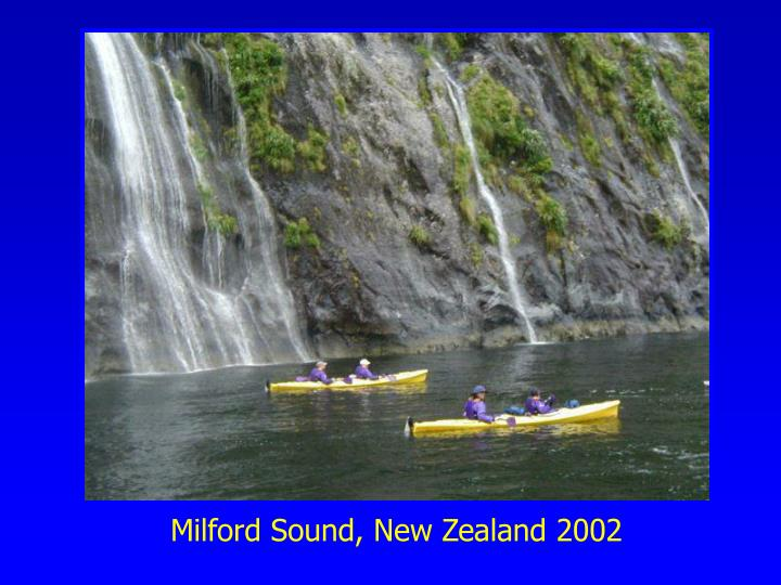 Milford Sound, New Zealand 2002