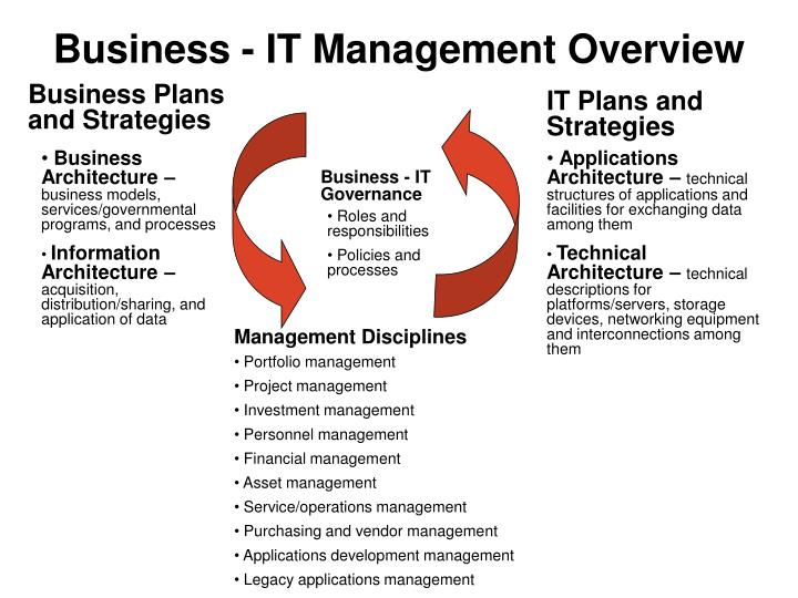 Business - IT Management Overview