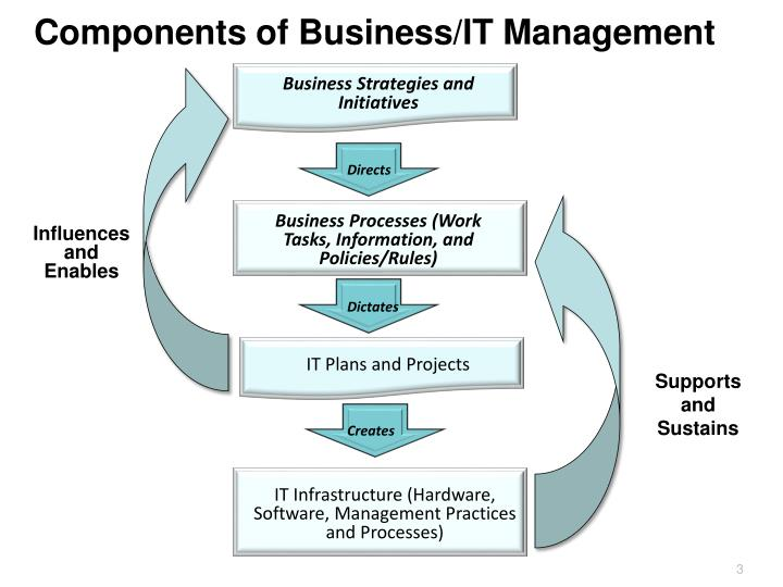 Components of Business/IT Management