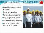 shree people friendly company