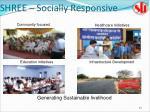 shree socially responsive