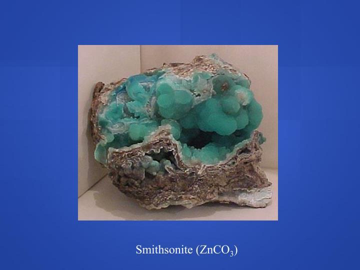 Smithsonite (ZnCO