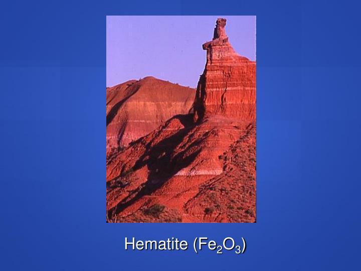 Hematite (Fe
