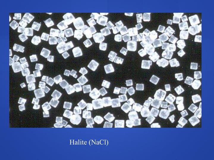 Halite (NaCl)