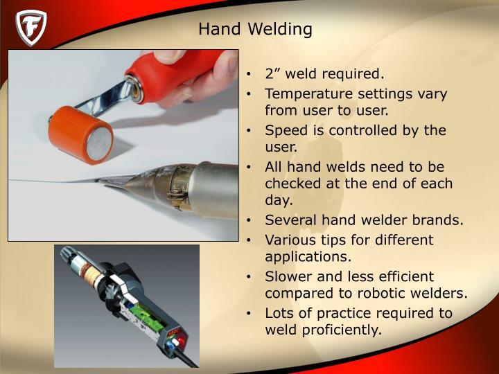 Hand Welding
