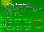 limiting reactant2