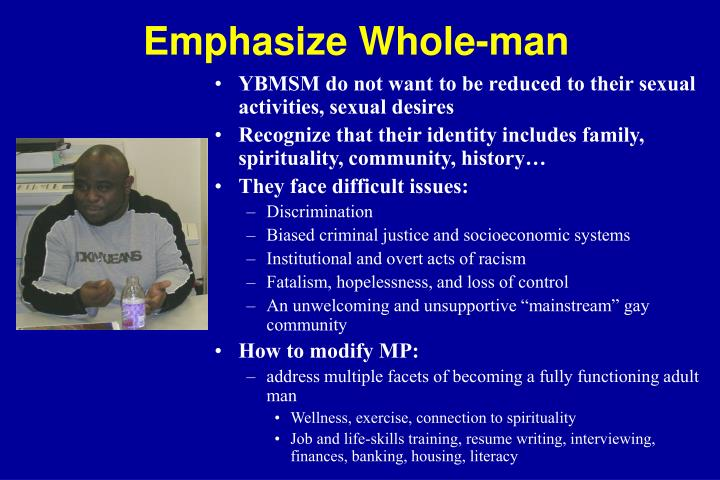 Emphasize Whole-man
