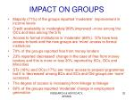 impact on groups1