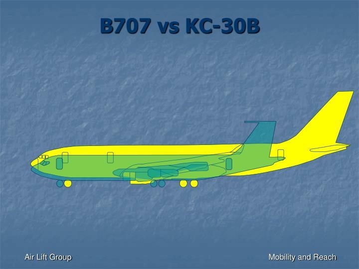 B707 vs KC-30B