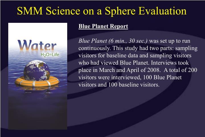 Blue Planet Report