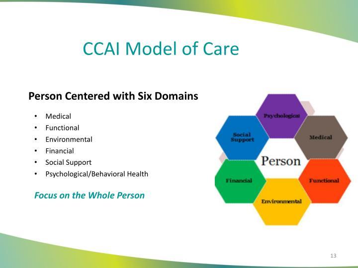 CCAI Model of Care