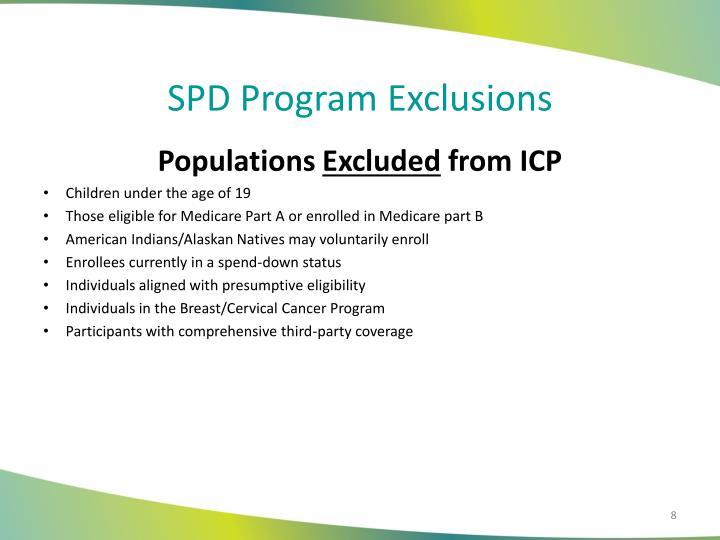 SPD Program
