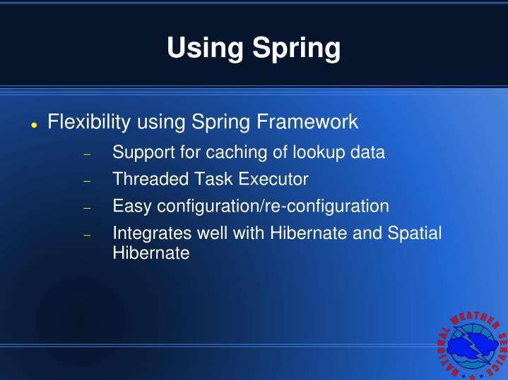 Using Spring