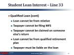 student loan interest line 332