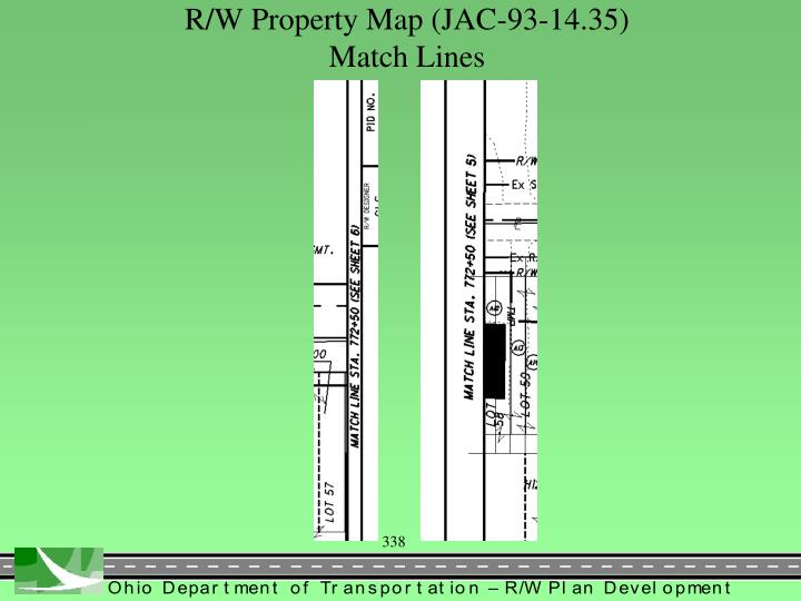 R/W Property Map (JAC-93-14.35)