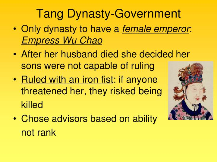 Tang Dynasty-Government