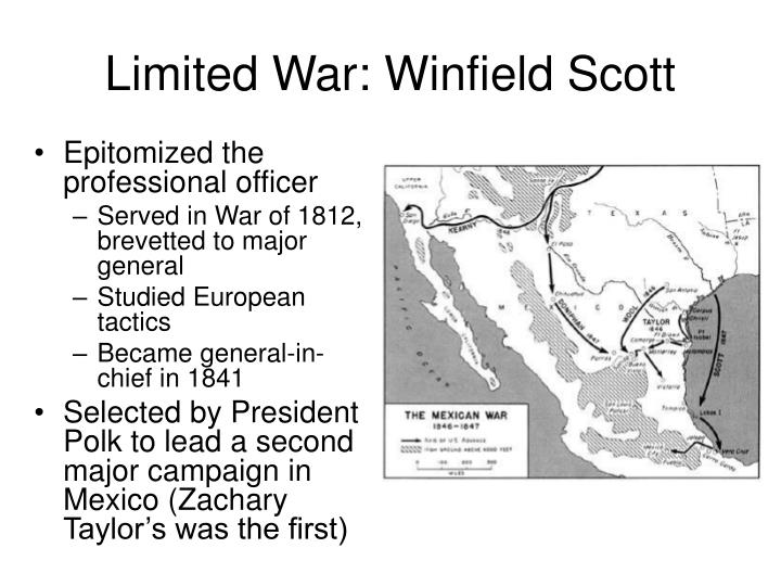 Limited War: Winfield Scott