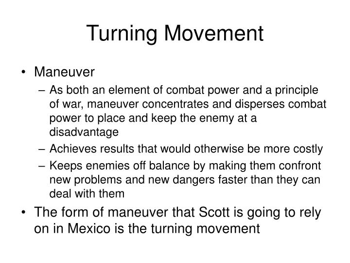 Turning Movement