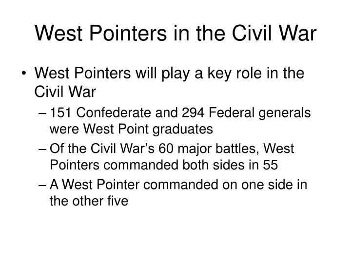 West Pointers in the Civil War