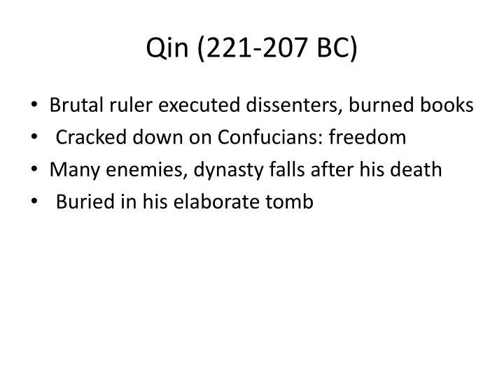 Qin (221-207 BC)