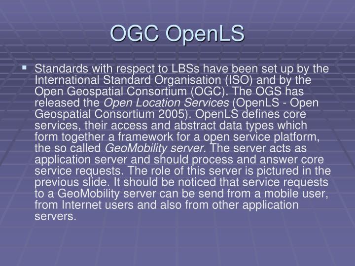 OGC OpenLS