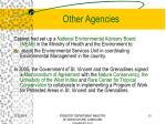 other agencies1
