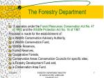 the forestry department1