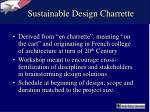 sustainable design charrette