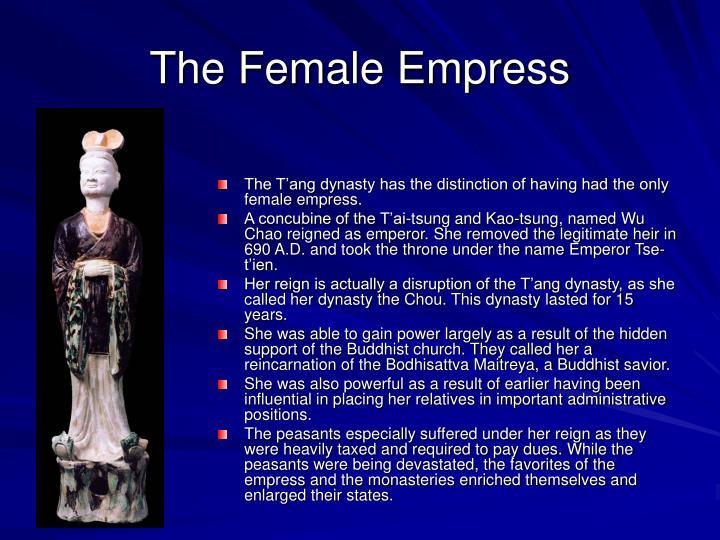 The Female Empress