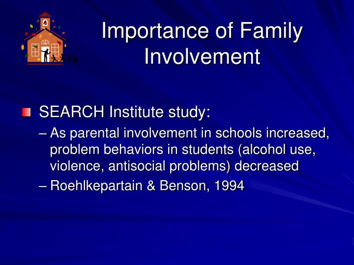 Importance of Family Involvement