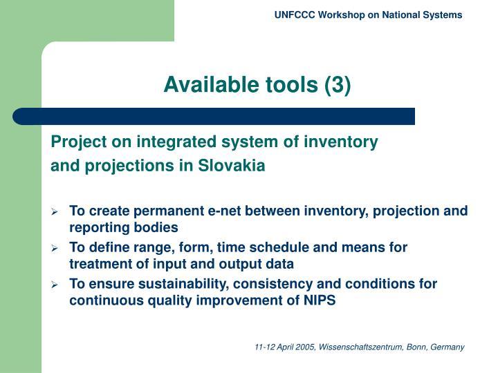 UNFCCC Workshop on National Systems