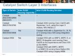 catalyst switch layer 3 interfaces1