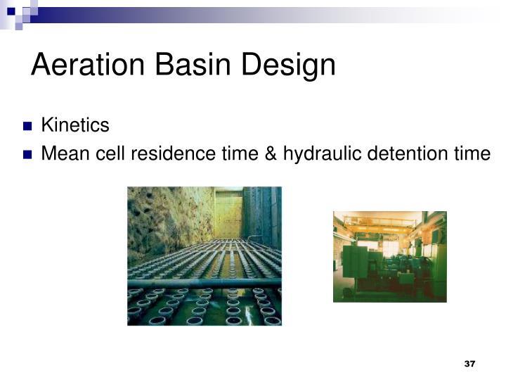 Aeration Basin Design