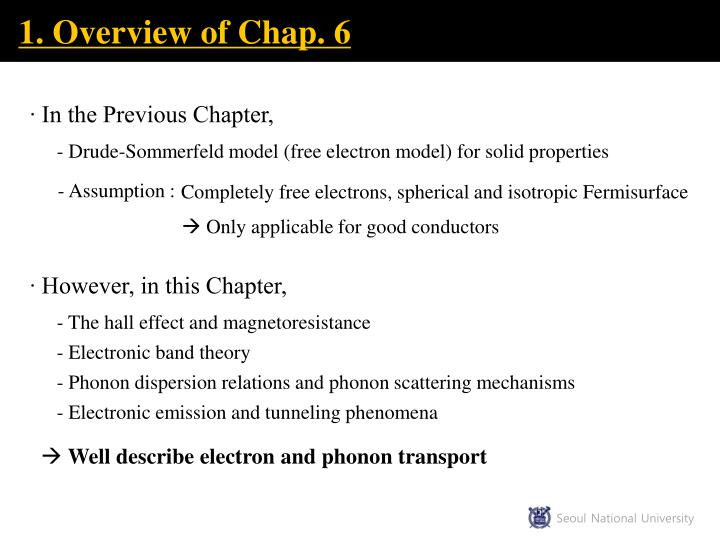 1. Overview of Chap. 6
