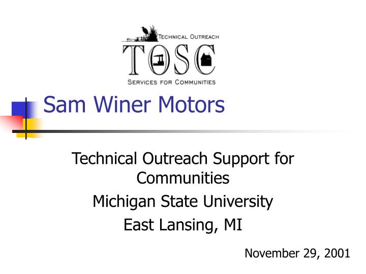 Sam Winer Motors