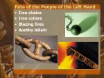 fate of the people of the left hand