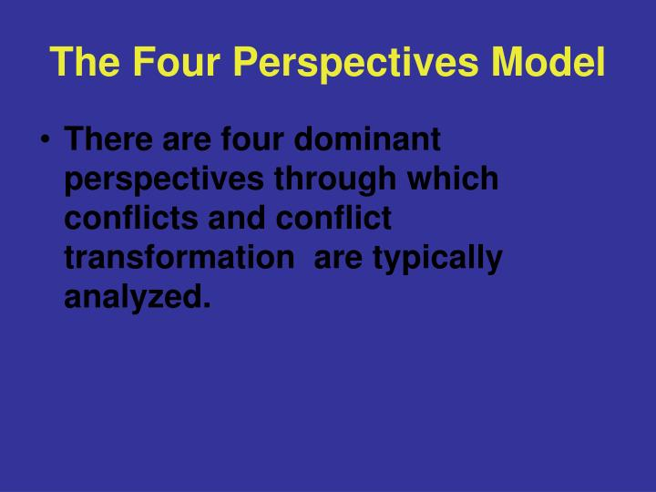 The Four Perspectives Model
