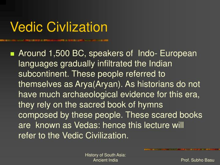 Vedic civlization
