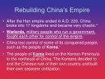 rebuilding china s empire