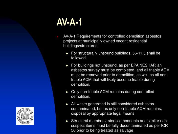 AV-A-1