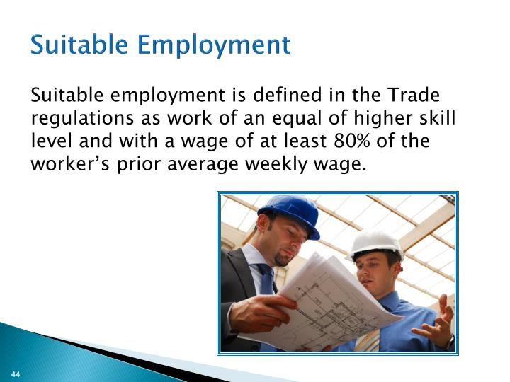 Suitable Employment