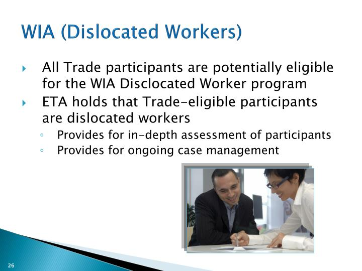 WIA (Dislocated Workers)