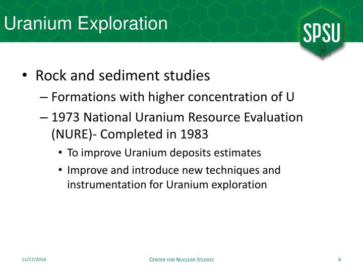 Uranium Exploration