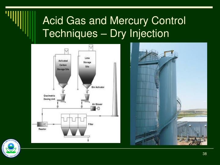 Acid Gas and Mercury Control Techniques – Dry Injection