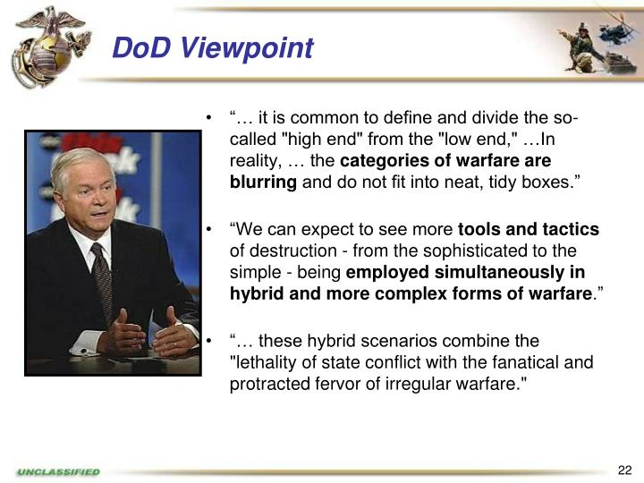 DoD Viewpoint
