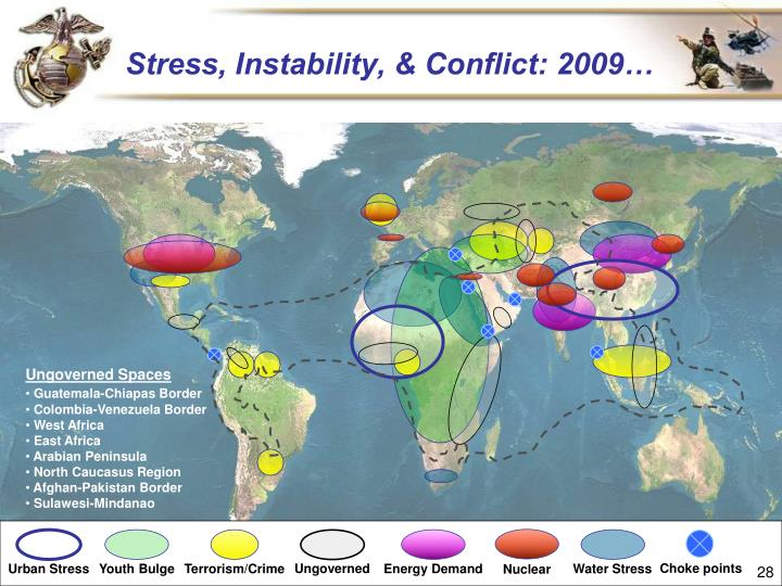Stress, Instability, & Conflict: 2009…