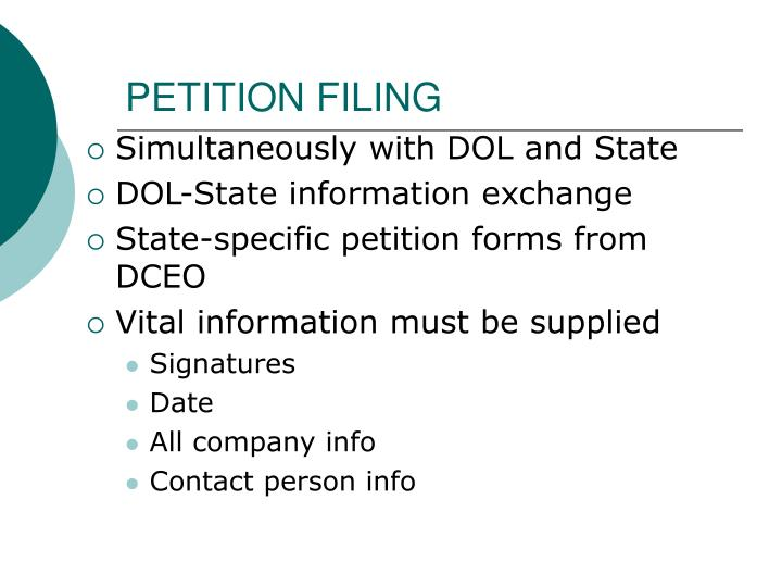 Petition filing1