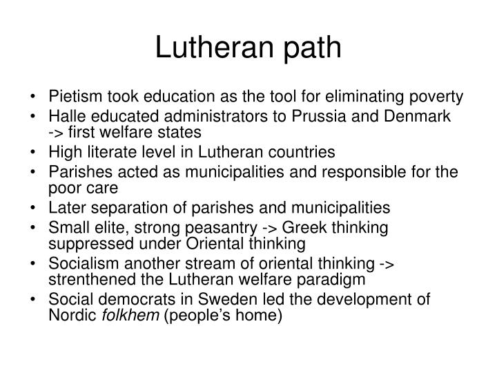 Lutheran path