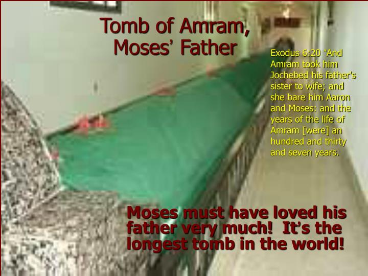 Tomb of Amram,