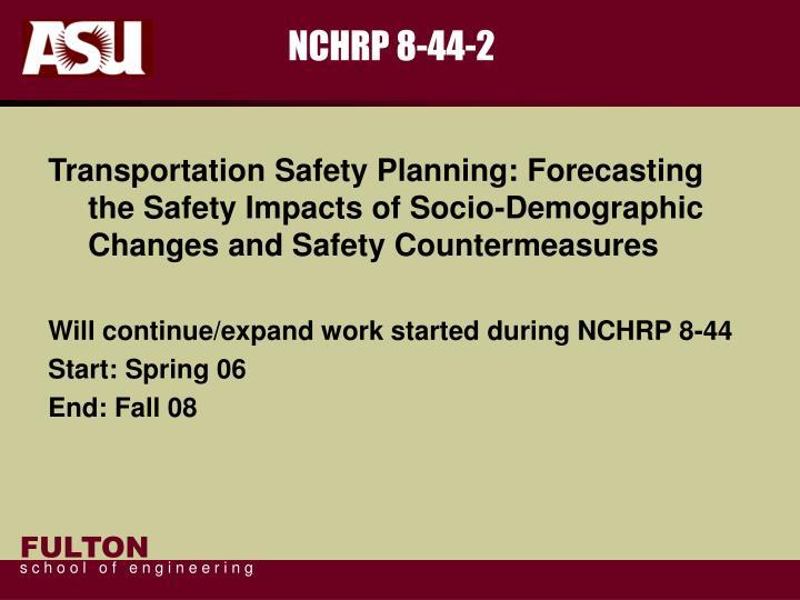 NCHRP 8-44-2